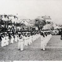09 Ginástica rítmica, Sokol. Foto de Manuel R. Nascimento, 1939..jpg