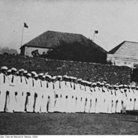 11a Aula teórica ministrada no Quartel dos Falcões. Foto de Manuel N. Ramos, 1934..jpg