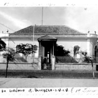 Casa do Senador Vera Cruz – edifício onde foi instalado o Liceu Nacional de Cabo Verde